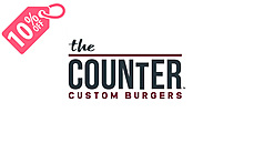 10 off the counter custom burgers 1